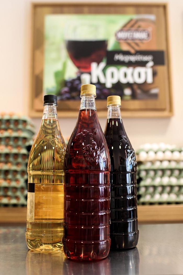 Αγρόκτημα Μουστάκα, Κρασί